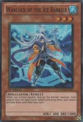 Warlock of the Ice Barrier - HA04-EN023 - Super Rare - 1st Edition