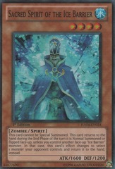Sacred Spirit of the Ice Barrier - HA04-EN024 - Super Rare - 1st Edition
