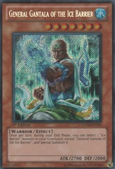 General Gantala of the Ice Barrier - HA04-EN054 - Secret Rare - 1st Edition on Channel Fireball