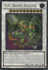 T.G. Blade Blaster - Ultimate - EXVC-EN042 - Ultimate Rare - 1st Edition on Channel Fireball