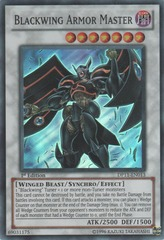 Blackwing Armor Master - DP11-EN013 - Super Rare - 1st Edition on Channel Fireball