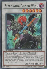 Blackwing Armed Wing - DP11-EN014 - Rare - 1st Edition on Channel Fireball