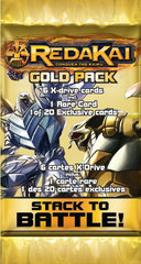 Redakai Card Game Hobby Edition Gold Pack Booster Pack