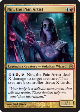 Nin, the Pain Artist
