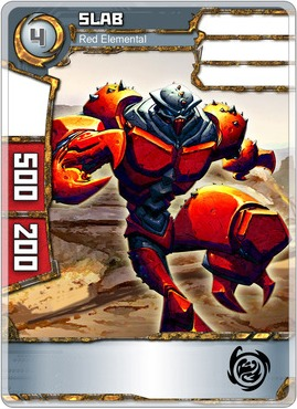 Slab - Red Elemental