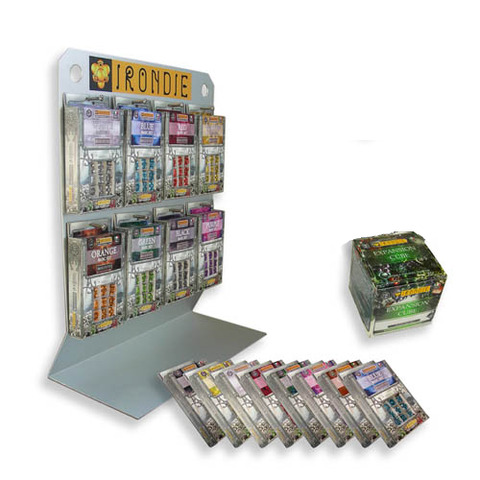 IronDie 16 Starter Pack & 1 Cube Display Kit