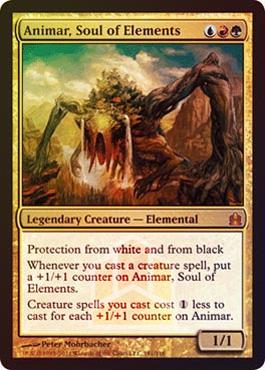 Oversized - Animar, Soul of Elements
