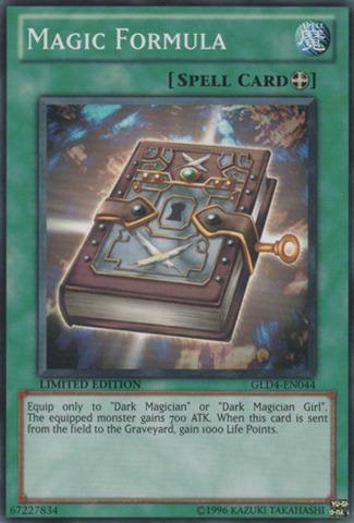 Magic Formula - GLD4-EN044 - Common - Limited Edition