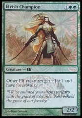 Elvish Champion - Foil JSS Promo