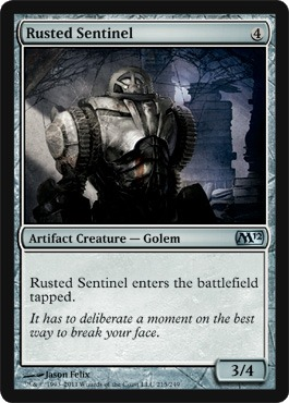 Rusted Sentinel