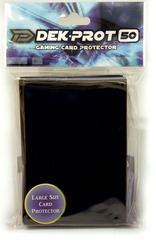 Dek Prot 50ct. Standard Sleeves - Midnight Black