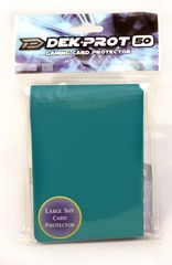 Dek Prot 50ct. Standard Sleeves - Teal Green