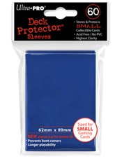 Ultra Pro 60ct Yugioh Sized Sleeves - Blue