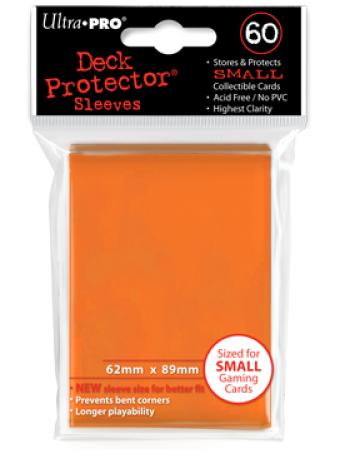 Ultra Pro 60ct Yugioh Sized Sleeves - Orange