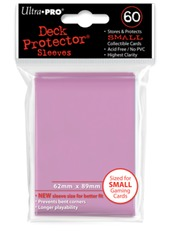 Ultra Pro 60ct Small Sized Sleeves - Pink
