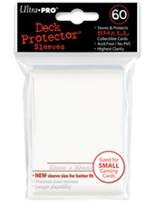 Ultra Pro Small Size Sleeves - White - 60ct