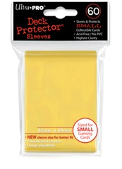Ultra Pro 60ct Small Sized Sleeves - Yellow