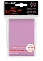 Ultra Pro Standard Sleeves - Pink (50 ct.)