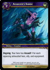 Assassin's Game - Foil
