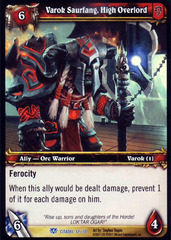 Varok Saurfang, High Overlord