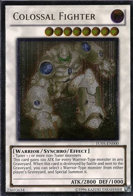 Colossal Fighter - TU05-EN000 - Ultimate Rare - Unlimited Edition