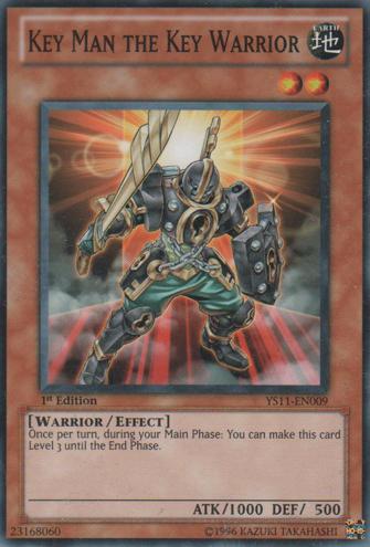 Key Man the Key Warrior - YS11-EN009 - Common - 1st Edition