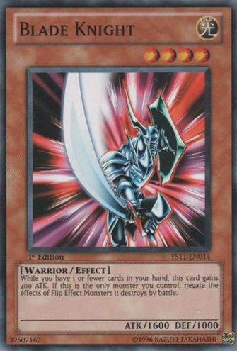 Blade Knight - YS11-EN014 - Common - 1st Edition