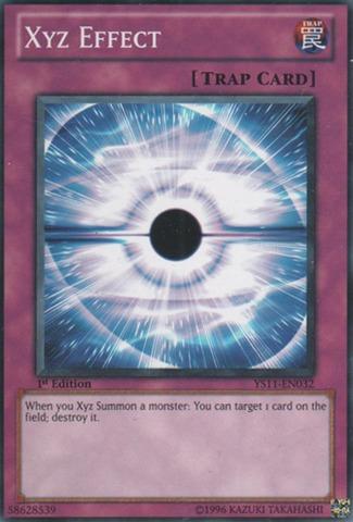 Xyz Effect - YS11-EN032 - Common - 1st Edition