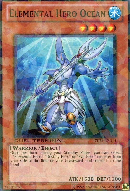 Elemental Hero Ocean - DT05-EN014 - Parallel Rare - Duel Terminal