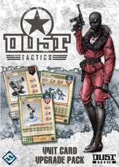 Dust Tactics Unit Card Upgrade Pack