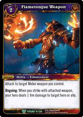 Flametongue Weapon