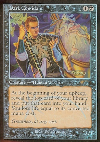Dark Confidant - Foil DCI Judge Promo
