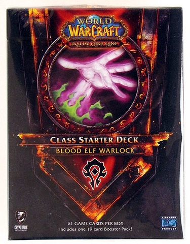 2011 Horde Blood Elf Warlock Class Starter Deck