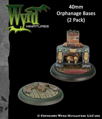 Base Insert: Orphanage 40mm (2)