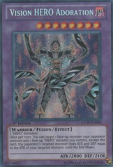 Vision HERO Adoration - GENF-EN096 - Secret Rare - 1st Edition