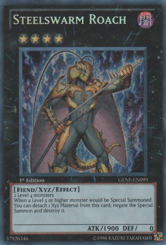 Steelswarm Roach - GENF-EN099 - Secret Rare - 1st Edition