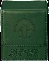 Ultra Pro Green Mana Flip Deck Box