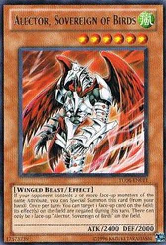 Alector, Sovereign of Birds - TU06-EN011 - Rare - Unlimited Edition