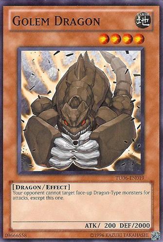 Golem Dragon - TU06-EN019 - Common - Unlimited Edition