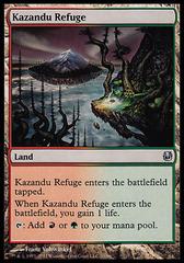 Kazandu Refuge on Channel Fireball