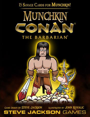 Munchkin: Conan the Barbarian