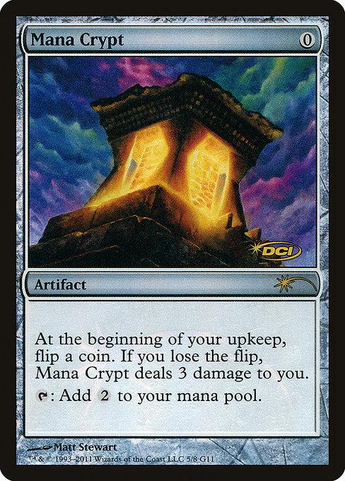 Mana Crypt - Foil DCI Judge Promo