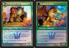 Mayor of Avabruck // Howlpack Alpha - Foil - Prerelease Promo