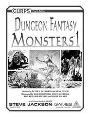 GURPS Dungeon Fantasy: Monsters 1