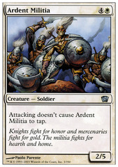 Ardent Militia - Foil on Channel Fireball