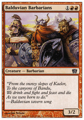 Balduvian Barbarians - Foil on Channel Fireball