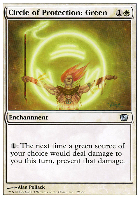 Circle of Protection: Green - Foil