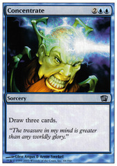 Concentrate - Foil on Channel Fireball
