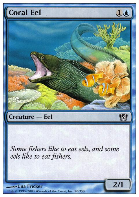 Coral Eel - Foil