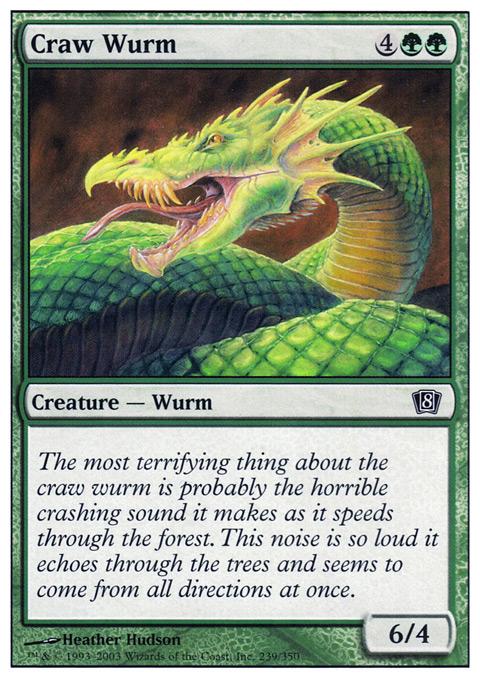 Craw Wurm - Foil